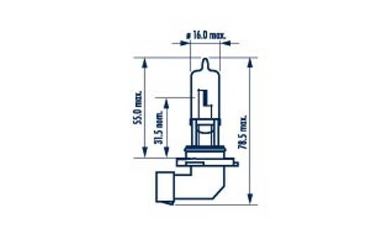 Glühlampe, Fernscheinwerfer 12 V NARVA 48616