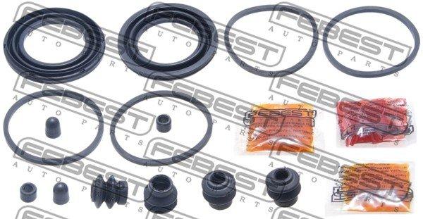 Reparatursatz, Bremssattel Vorderachse FEBEST 0275-E11JPPF