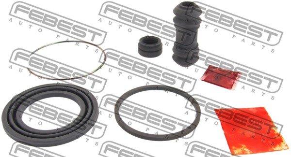 Reparatursatz, Bremssattel Vorderachse FEBEST 0475-E38F