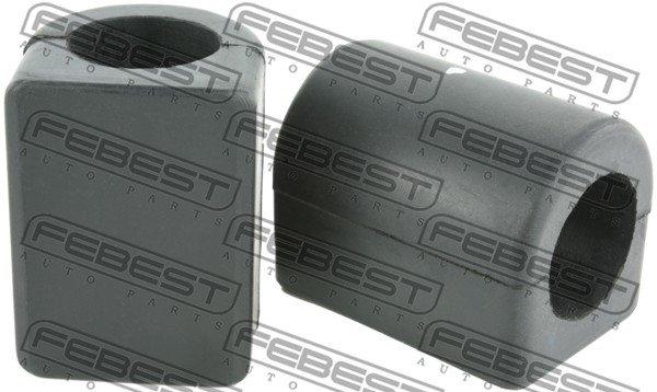 Lagerung, Stabilisator Hinterachse beidseitig FEBEST BZSB-166RV1