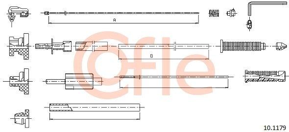 Gaszug COFLE 10.1179