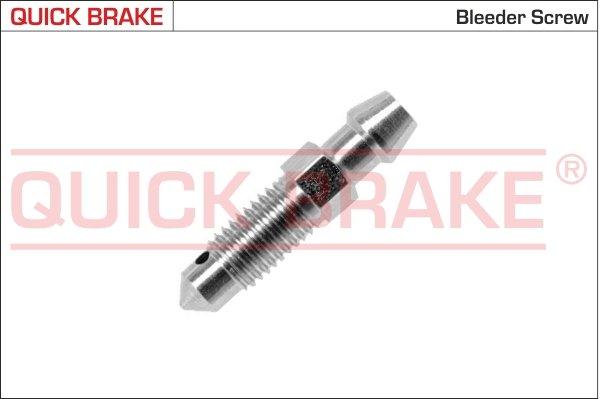 Entlüfterschraube/-ventil QUICK BRAKE 0086 Bild 1